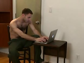 hairy gay military guys jerk together