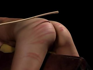 kinky bitches enjoying bdsm caning spanking