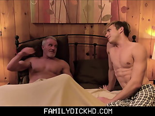 athletic twink grandson fucked grandpa bed