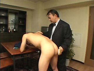 japan students spanking