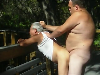 outdoors scenes grandpa sucks amp gets