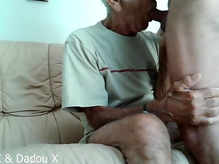 80 year bitch sucks swallows cum