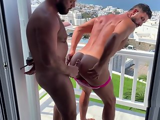 mykanos public exposed hairy arab