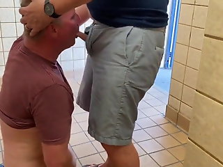 daddies public toilet spy