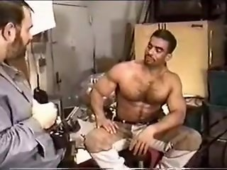 cuban gay bear works huge dick