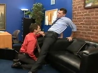 gay office sex monster meat