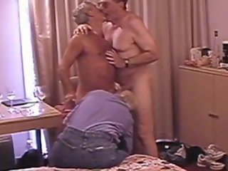 mature older guy threesome
