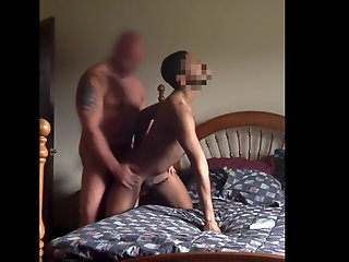 married construction worker pounds black bitch